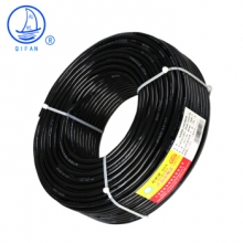 起帆(QIFAN)电线电缆 RVV2*1.5平方国标两芯电线2芯多股铜丝 软护套线 电源线 黑色 50米