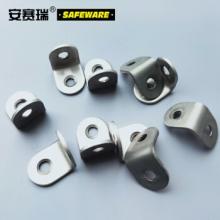 安赛瑞 不锈钢直角角码 L型连接件角铁支架 90度直角固定角铁 38×31×1.4mm(20个装)22496
