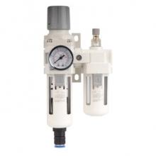 SMC型气源处理器 AC3010-03D空压机过滤调压阀减压阀气缸空气过滤器二联件自动排水油水分离器  自动排水3分螺纹接口
