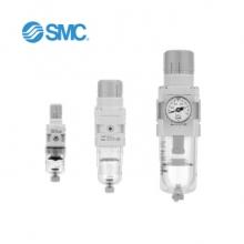 SMC 减压阀/过滤减压阀 AR/AW系列 气源处理元件 SMC AW30-02BG-A