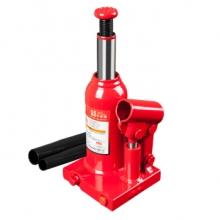 中联(CUJC)T90204D 红色焊接立式液压千斤顶 汽修工具 面包车轿车用换轮胎起重工具 2吨
