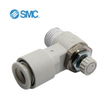 SMC AS3002F-10 AS系列 调速阀 弯头型/万向型调速阀