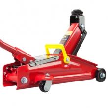 中联(CUJC)T82004 中联 红色卧式液压千斤顶2吨 汽车工具小车轿车面包车用换胎工具钢板加厚2T