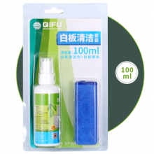 齐富QF-Q250白板大瓶清洁剂 清洁液 250ML