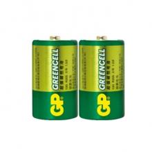 超霸 GP 碳性电池 1号  2节/卡 100卡/箱