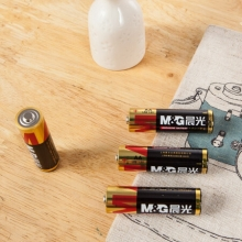 晨光 M&G 碱性电池 ARC92556 5号  4节/卡 12卡/箱 吸卡