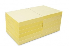 N次贴  可再贴自粘便条纸 31005 76*76mm (黄色) 100页/本 12本/包