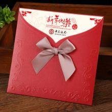 韩国创意干花贺卡感谢卡祝福邀请函生日贺卡定制  紫色满天星  (DC)