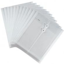 金得利 KINARY 透明档案袋 F118 A4 12个/包 (颜色随机)