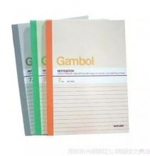 国誉Gambol 渡边G5303 笔记本A5 30页 页记事本 软面抄(混色)