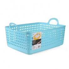 茶花 CHAHUA 镂空塑料收纳筐 1168 50cm*36cm*25cm  10个/箱