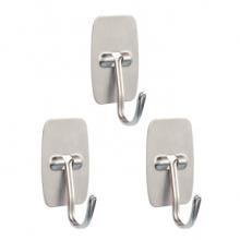 宜洁 不锈钢方形挂钩 Y-9515  3只/包