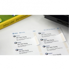普林泰科 printec 地址打印标签 56分 52.5*21.2mm A0560-100 100张/包