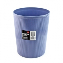 得力 deli 圆形清洁桶/垃圾桶 9581 φ21.5cm 7L (蓝色) 40个/箱