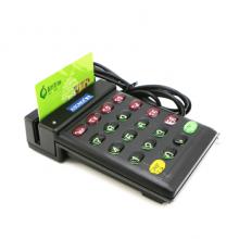 智卡 磁卡磁条卡读卡器 USB接口双向读会员卡刷卡机