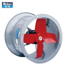 德通(Deton)TAD30-4圆筒轴流风机工业换气扇低噪音厨房排气扇大风量排风扇卫生间管道式通风机12寸 220V