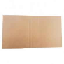 博进晟 无酸纸档案封面资料装订封皮卷宗软卷皮文件折叠a4牛皮纸定制 无酸纸档案封面 10个装价