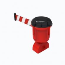 安赛瑞 11720 诱导柱伸缩隔离带头(9米)路锥伸缩带头 警示柱伸缩带