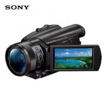 索尼(SONY)FDR-AX700 4K HDR民用高清数码摄像机(备用电池*1、存储卡*1、原厂摄影包*1)