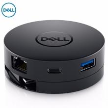 戴尔DA300移动转换转接适配器六合一 USB-C转DP VGA HDMI USB-A