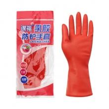 谋福 8671胶皮(S-M)清洁手套  中号(单位:副)