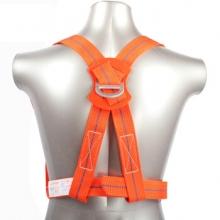 谋福 CNMF 8709 高空双背安全带 单钩攀岩带安全扣防坠落带绳安全带(单绳 标准款)MFD001