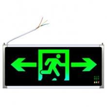 谋福CNMF 1*3W安全出口消防指示灯LED (双面双方向)80786(只)