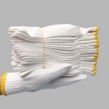 谋福8033加厚耐磨棉线手套白色(付)