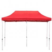 谋福9189户外帐篷伞折叠遮阳棚( 红色 3*6米款)(单位:个)