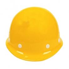 谋福 CNMF8038-1 盔式透气安全帽 抗冲击工地建筑防砸安全帽 黄色