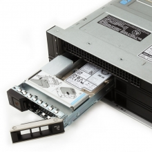 戴尔(DELL) R740 2U机架式服务器主机 R740 2x3206R 1x495W 2x32GB|2x2.4T|H330|导轨