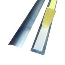 谋福 CNMF 8849 铝合金线槽 金属防踩线槽 半弧形地面穿线用 (4号线槽) 5个装(米)