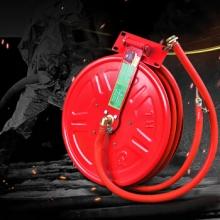 谋福9934消防器材消防水带软管卷盘25米水管水龙带(消防软管卷盘 25米)