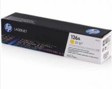 惠普(HP)粉盒/CE312A 126A 黄色粉盒 打印量1000页 适用于CP1025 CP1025 Pro M275 MFP 计价单位:支(CE312A)