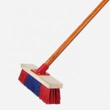 谋福 08 地板刷宾馆硬毛刷子清洁长柄地刷 浴室长木柄清洁刷 清洁刷子【地板刷宾馆硬毛刷(40cm)】(个)