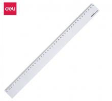 得力(deli)6240  40cm办公学习通用尺子 塑料直尺