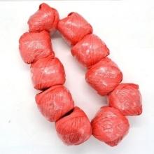 国产 包装捆扎红色玻璃带缝包绳
