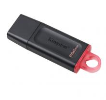 金士顿(Kingston)256GB USB3.2 Gen 1 U盘 DTX 时尚设计 轻巧便携