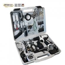 麦思德 家用多功能 五金电动工具箱套装