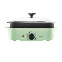 乐扣乐扣LOCK&LOCK   EJP537GRN(电烤炉)多用料理锅早餐机