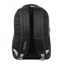 美旅 FN1*09001  时尚简约黑色双肩包电脑包 黑色