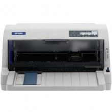 爱普生(Epson) LQ-735KII 82列平推票据针式打印机 (针式 票据打印机 黑白 A4)