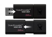 金士顿 DT100G3-32G USB3.0 高速U盘
