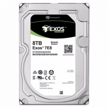 希捷(Seagate)8TB 256MB 7200RPM 企业级硬盘 SATA接口 希捷银河Exos 7E8系列(ST8000NM0055)